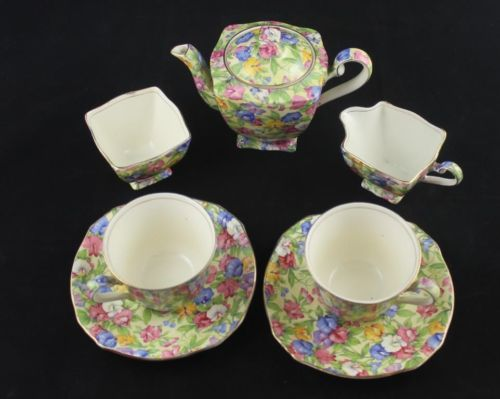 Royal Winton Tea Set - Sweet Pea Pattern | eBay
