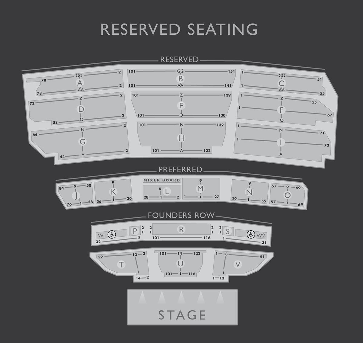 Seating Chart About Santa Barbara Bowl Foundation Diana Krall Seating Charts Barbara