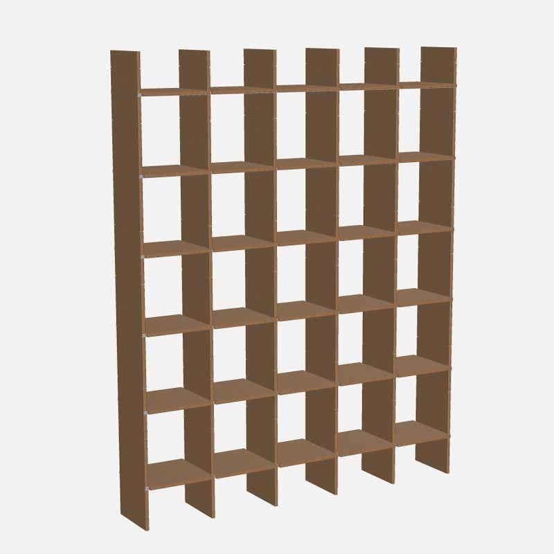 wohndesign --\u003e Moormann - Möbel / Regalsysteme - FNP Regal 5x5 MDF