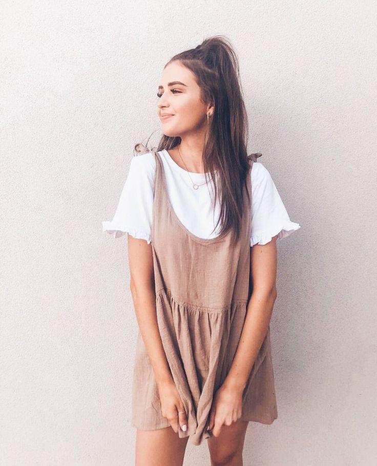 Juniper Mini Dress Mocha – US 6 / Mocha