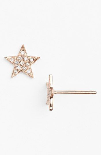 Julianne Himiko Diamond Star Stud Earrings Dana Rebecca Nordstrom And