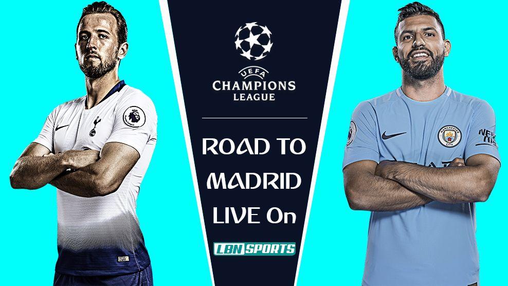 c1a226a37 Tottenham vs Man City Champions League Quarter-Final 9 Apr 2019 ...