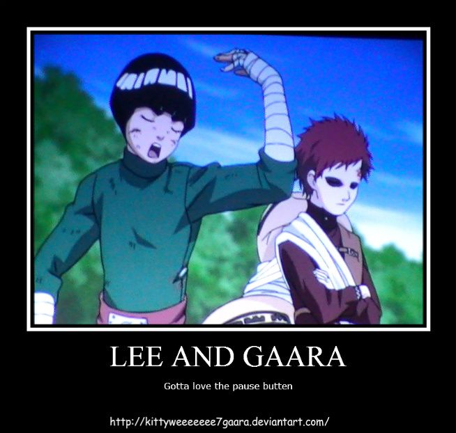 Gaara-Lee | Lee X Gaara | Gaara, Naruto, Anime naruto Gaara And Lee