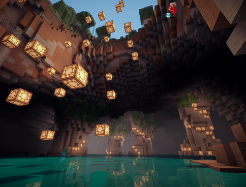 Minecraft Cave House Awesome Minecraft Minecraft