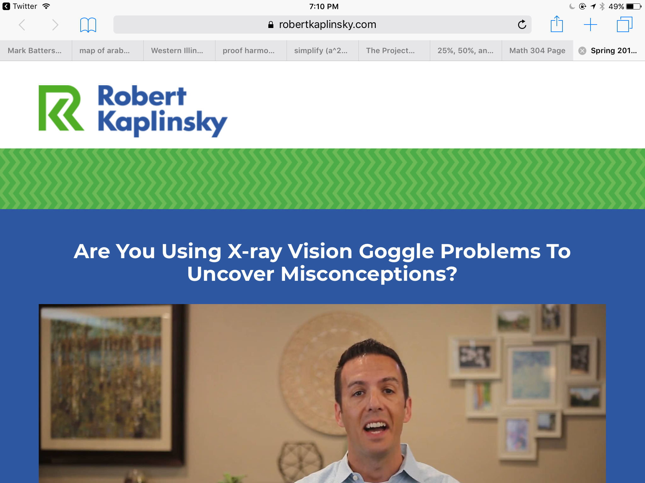 X Ray Vision Goggle Problems
