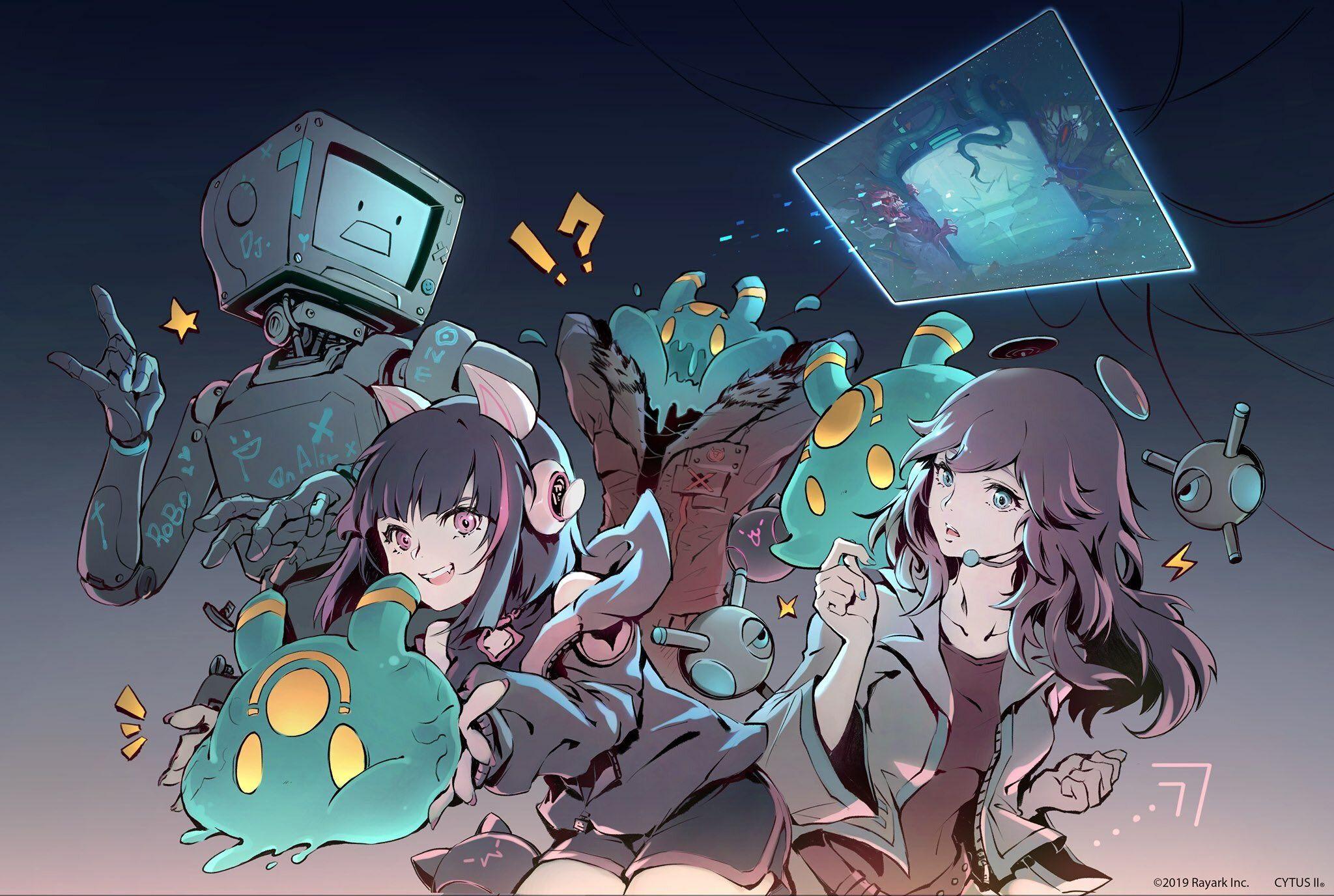 Cytus / CytusⅡ【公式】 on in 2020 Anime, Drawings, Art