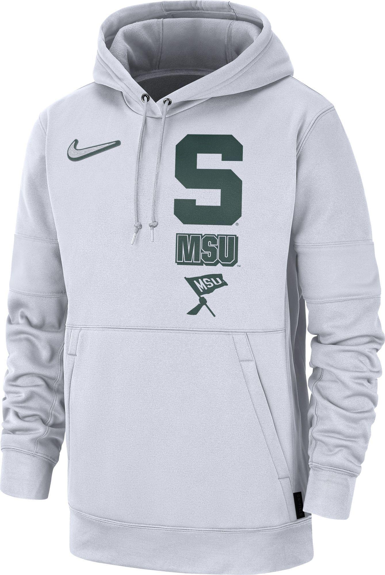 Men S Nike Michigan State Spartans Club Fleece Hoodie Hoodies Nike Men Fleece Hoodie [ 1024 x 1024 Pixel ]