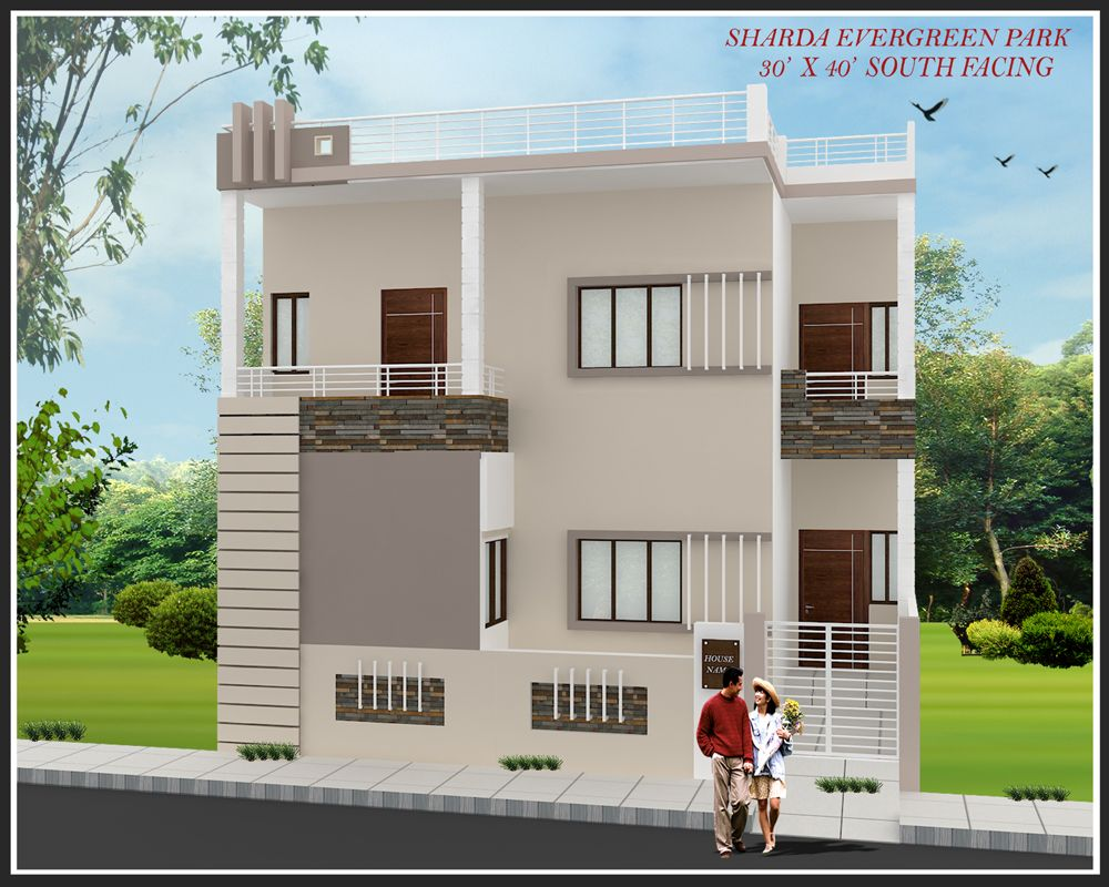 Home Design House Plan For X Site East Facing Photoage