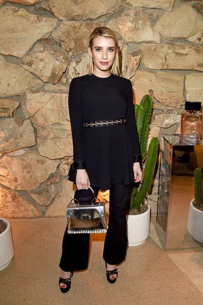 Emma Roberts Cutout Dress