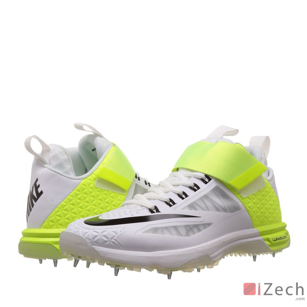 save off 402e3 39667 Nike Lunaraccelerate 2 White Cricket Shoes