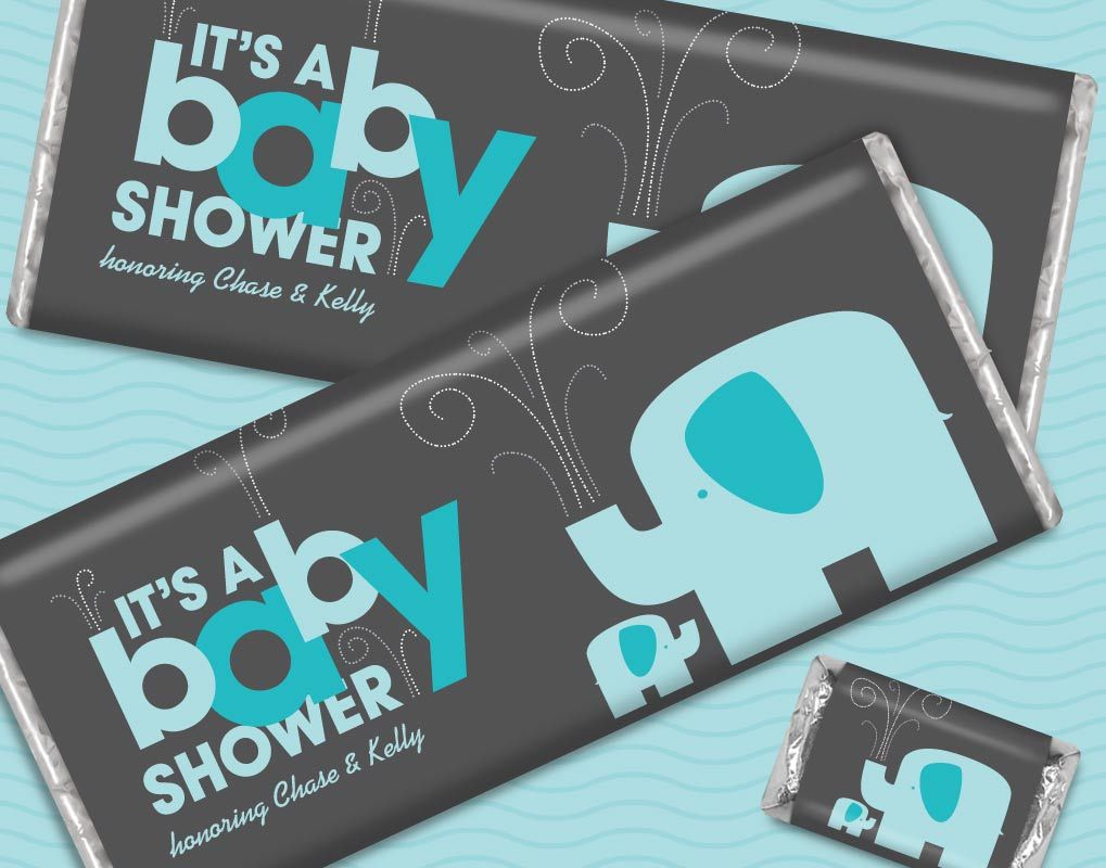 buy hershey baby shower favors for boys candy wrappers this is