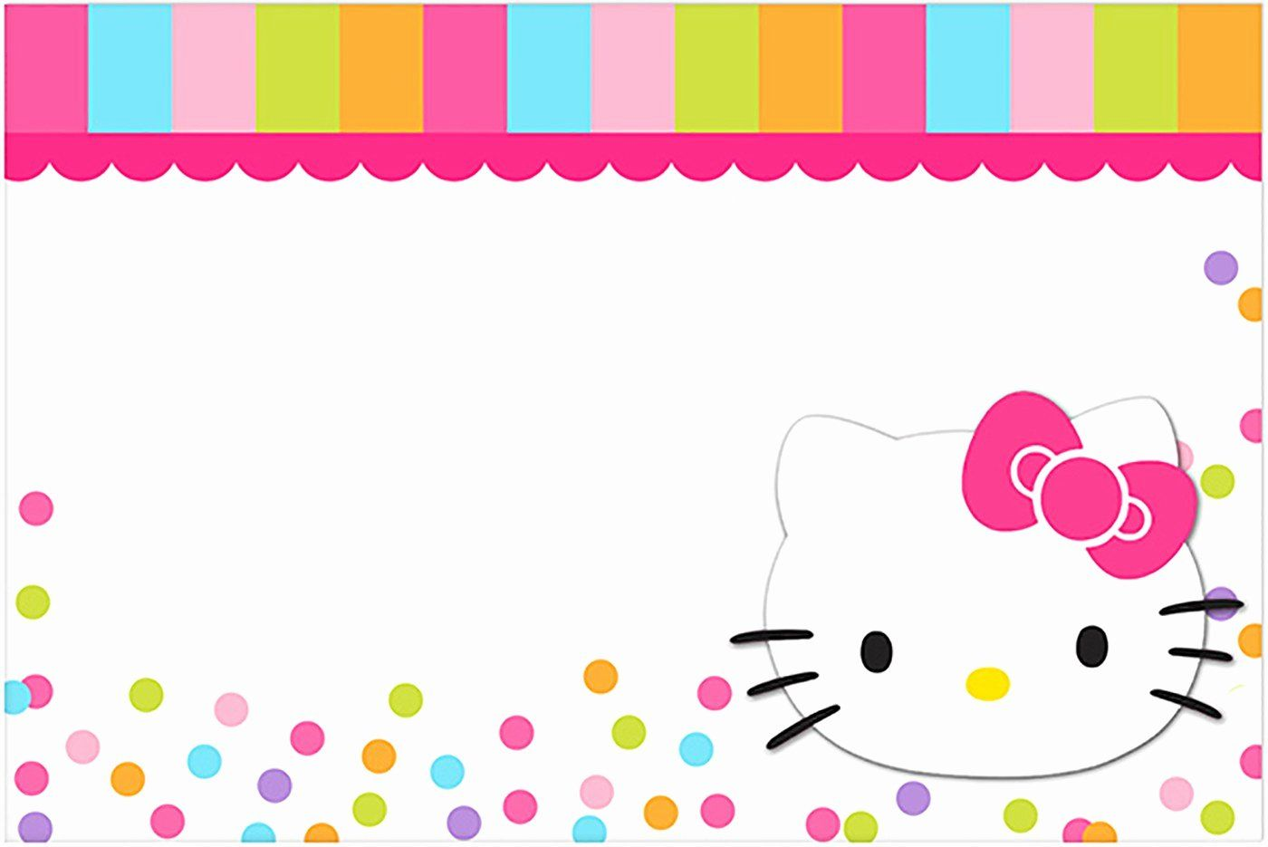 Hello Kitty Birthday Invitations Awesome Hello Kitty Free Printable Invitation Te Hello Kitty Invitations Hello Kitty Birthday Invitations Hello Kitty Birthday