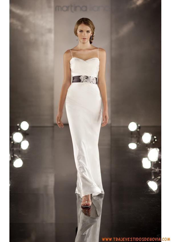Moderno Modernos Vestidos De Novia Sencillos Ornamento - Ideas de ...