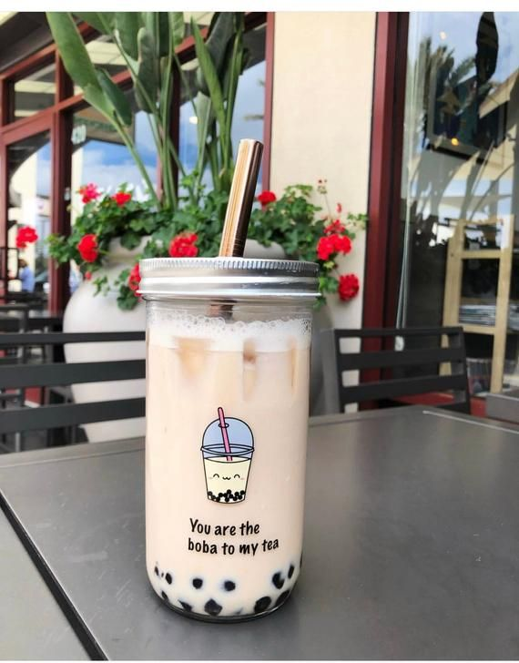 Reusable Bubble Tea Cup With Stainless Steel Straw Eco Friendly Boba Tea Cup Reusable Smoothie Tumbler Cute Reusable Bubble Tea Cup Bubble Tea Bubble Tea Boba Boba Tea