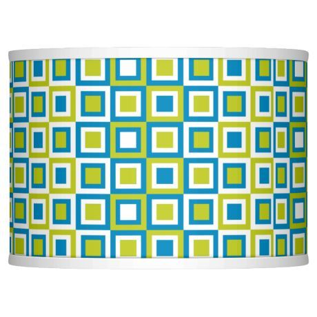 Blue boxes giclee glow lamp shade 135x135x10 spider style blue boxes giclee glow lamp shade 135x135x10 spider mozeypictures Gallery