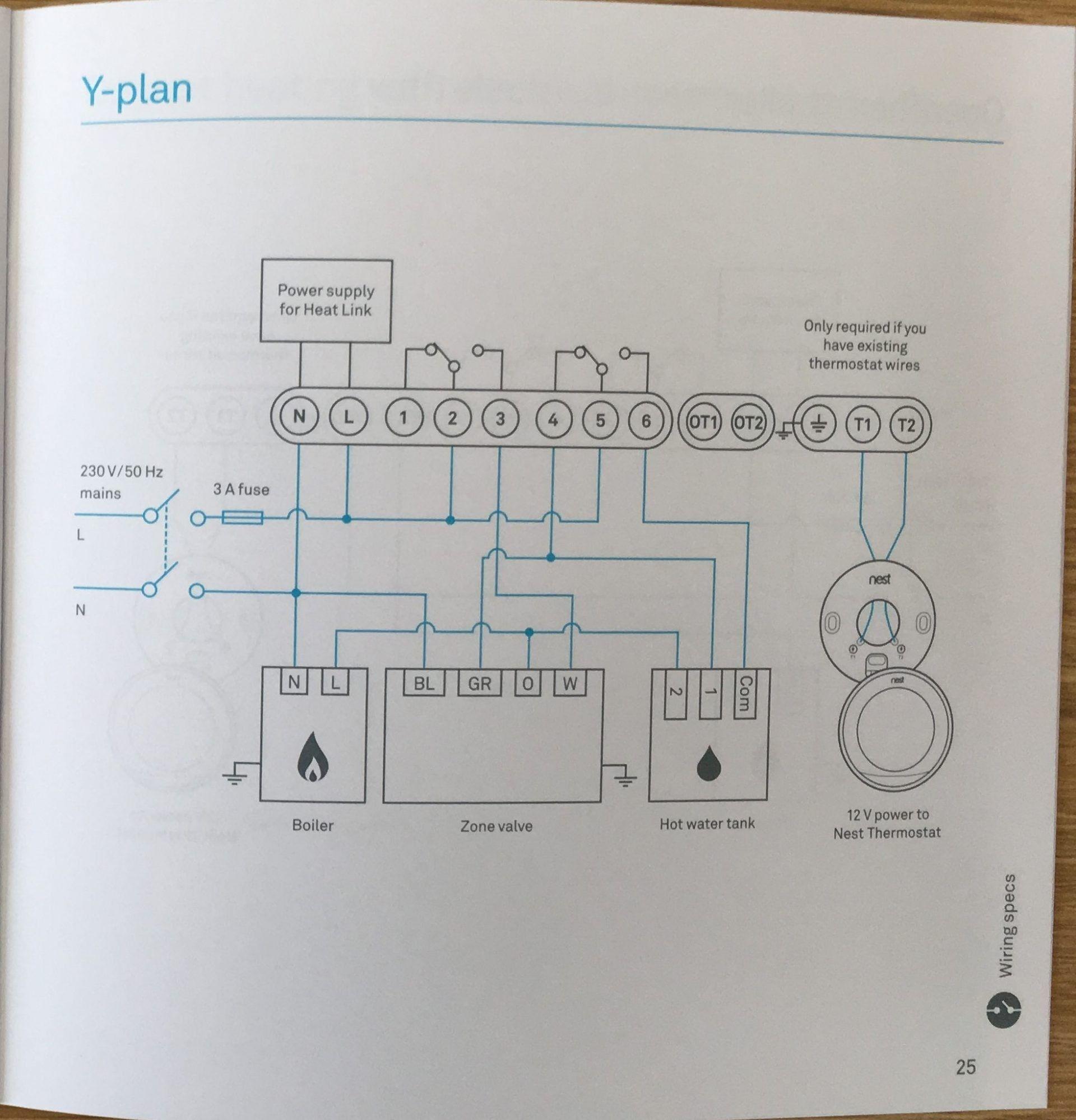 Unique Combi Boiler Programmer Wiring Diagram diagram