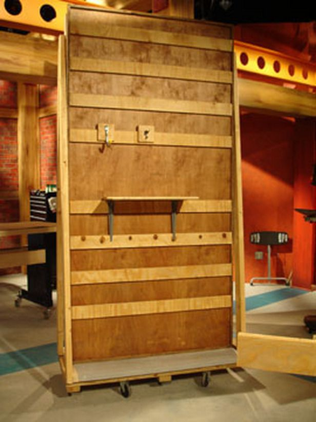 How To Build A Slat Wall Storage System