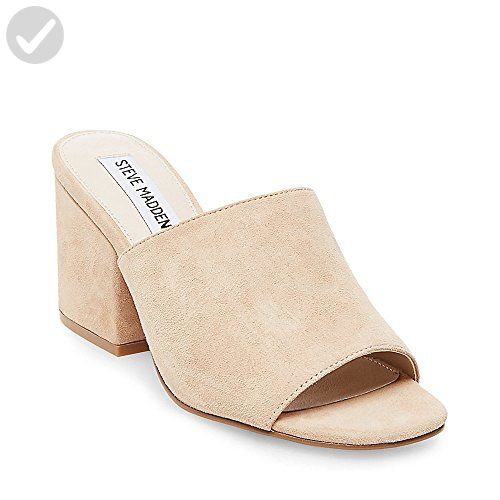 fb0383bdaf9 Steve Madden Women's Dalis Mule, Sand Suede, 10 M US - All about ...