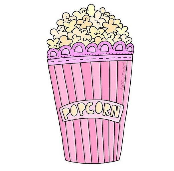 Drawing girly overlay pink png popcorn scallops for Girly tumblr drawings