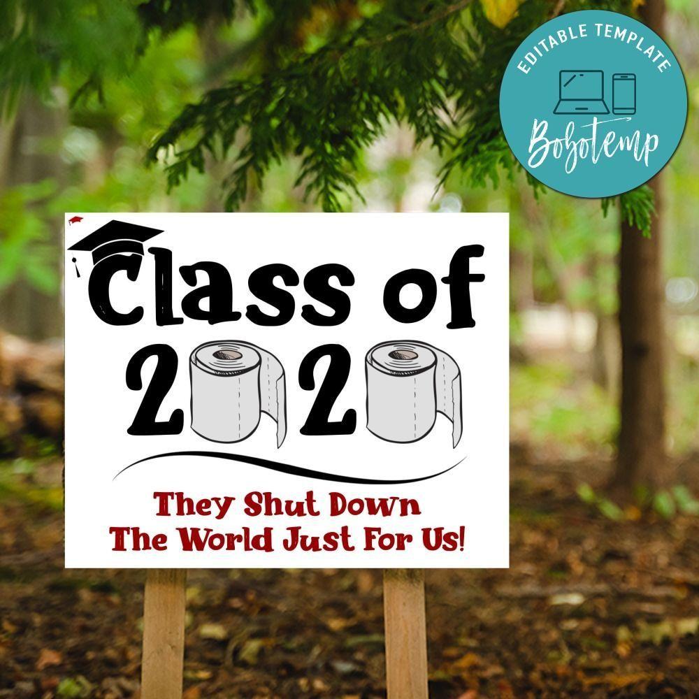 Diy Yard Signs For Graduation