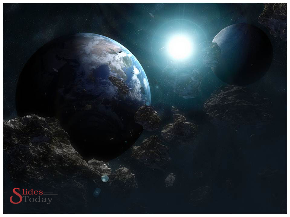 Space powerpoint template space and aircraft template space powerpoint template toneelgroepblik Images