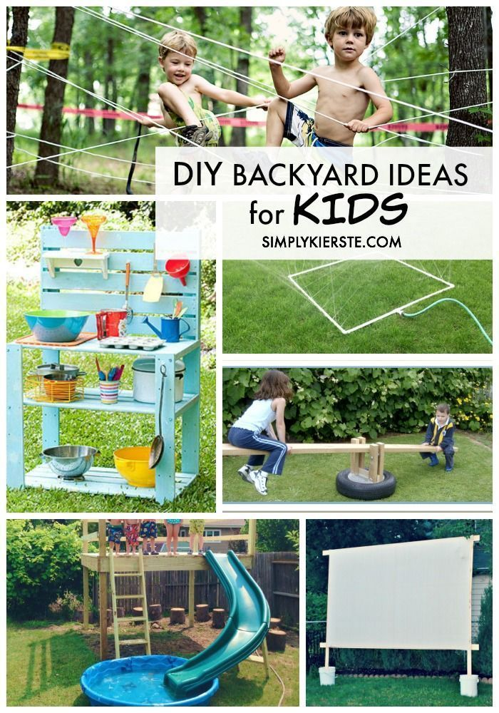 The Best Diy Backyard Ideas For Kids And Families Backyard For Kids Diy Backyard Outdoor Kids