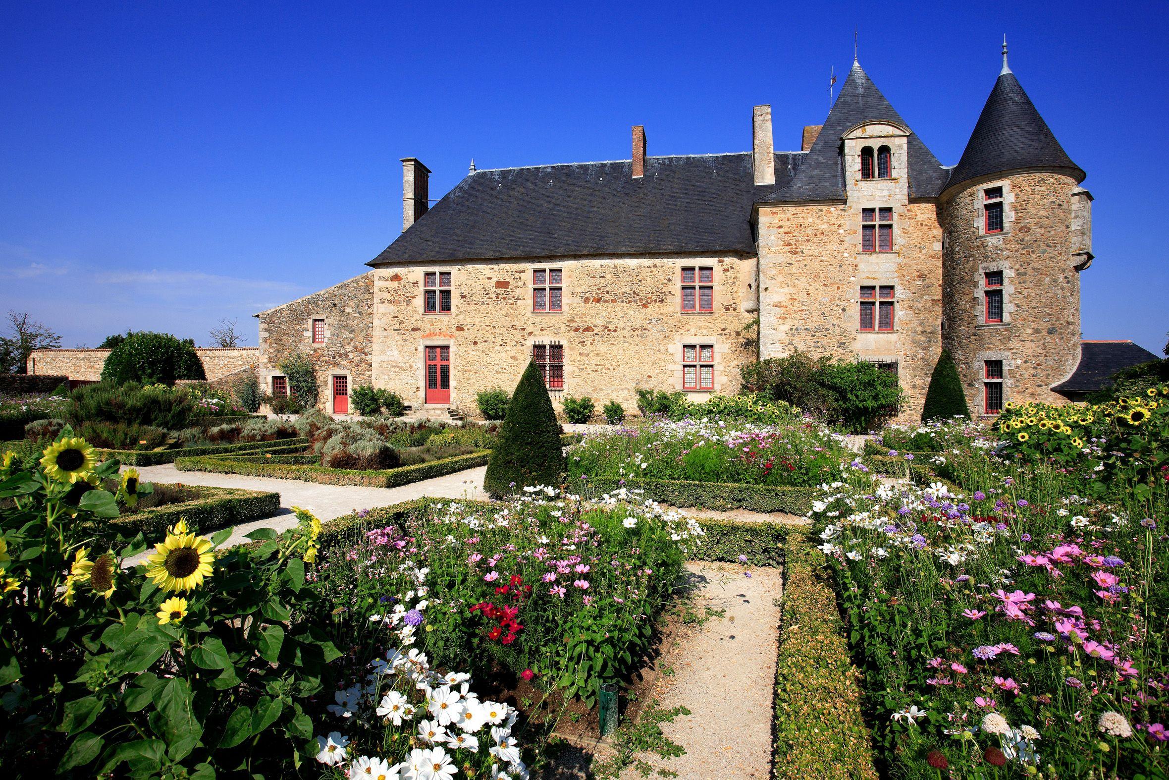 Saint Sulpice Le Verdon Jardin Du Logis De La Chabotterie