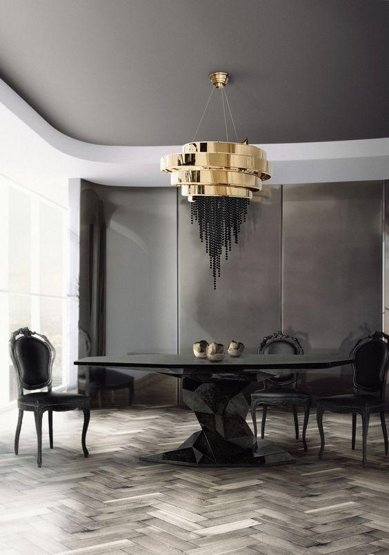 60 Modern Dining Room Design Ideas Sala De Estar De Luxo Boca