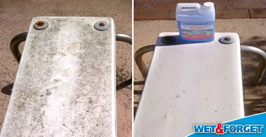 Our Top 5 Before After Shots Will Knock Your Socks Off Take A Look Diving Board Outdoor Cleaning Pool Accessories