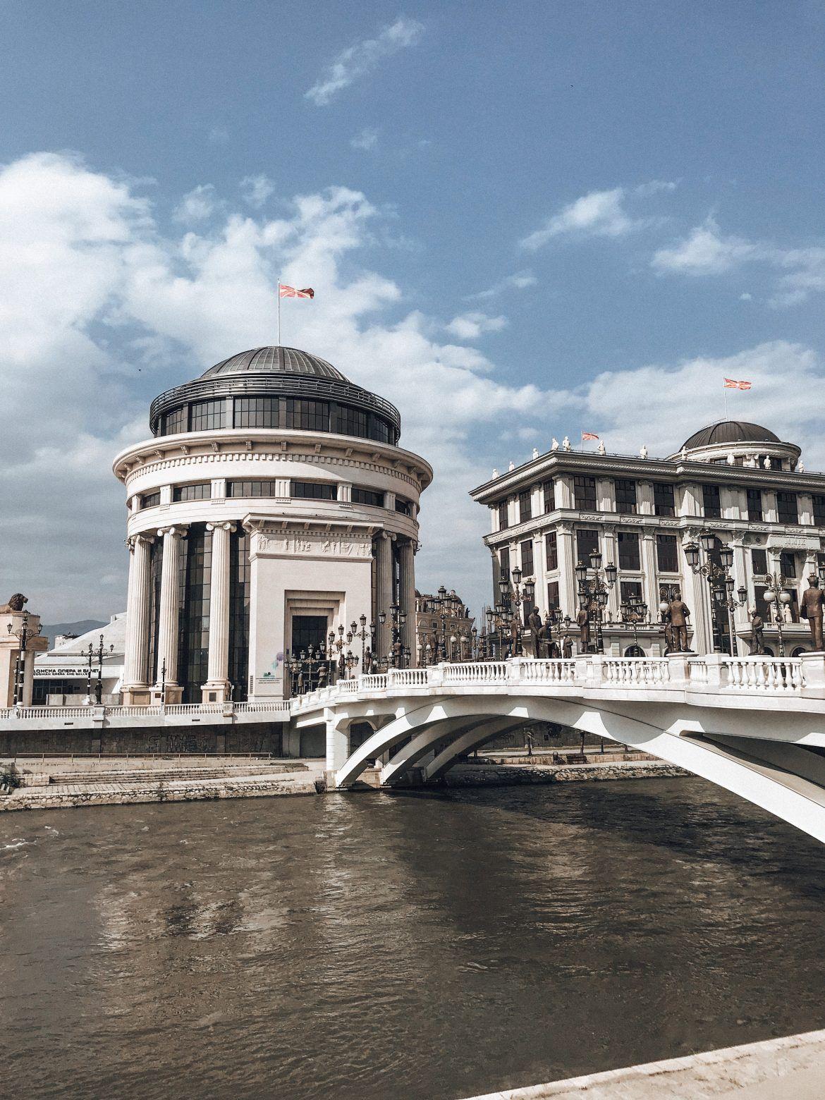Drei Tage In Skopje Mazedonien Hellopippa Mazedonien Reisen Hauptstadt