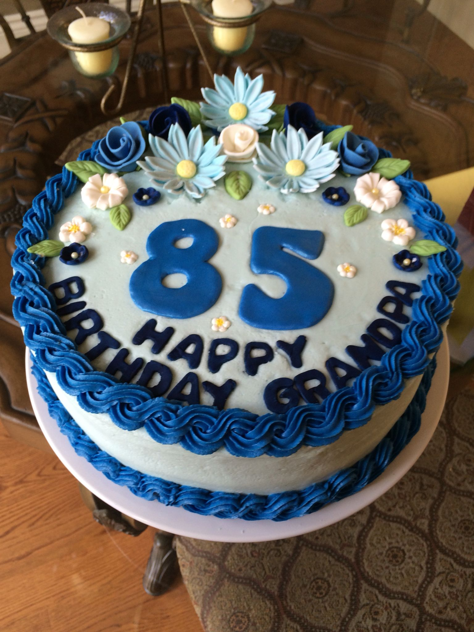 Birthday cake for grandpa cake birthday cake baptism cake