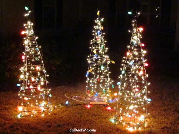 Easy Christmas Tree Project - Call Me PMc