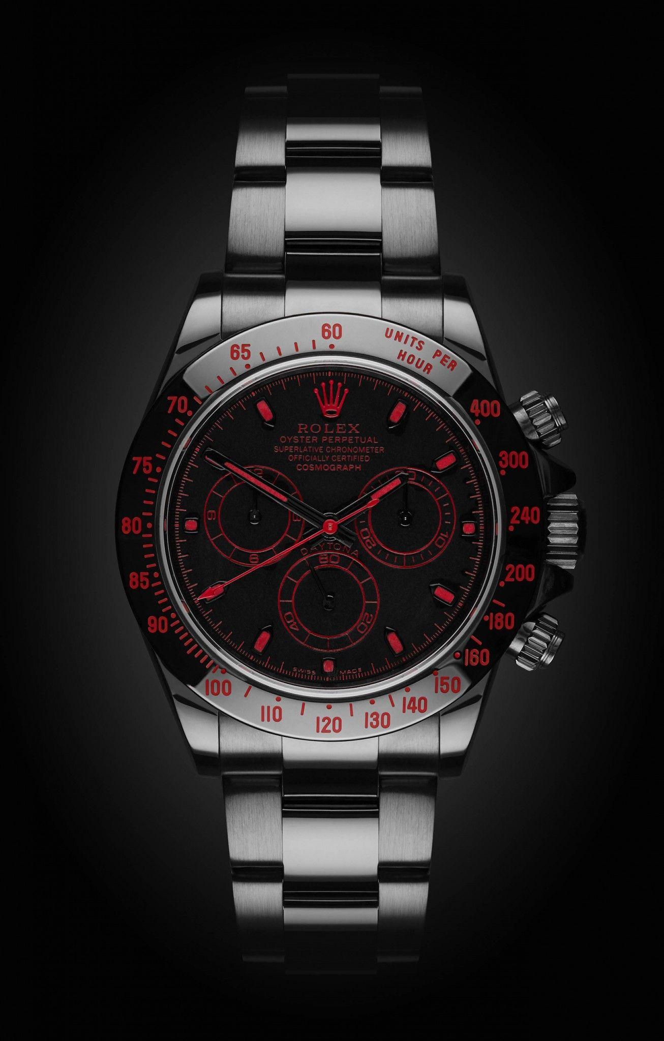 273662dc221 Rolex Daytona  The Red Titan Titan Black DLC
