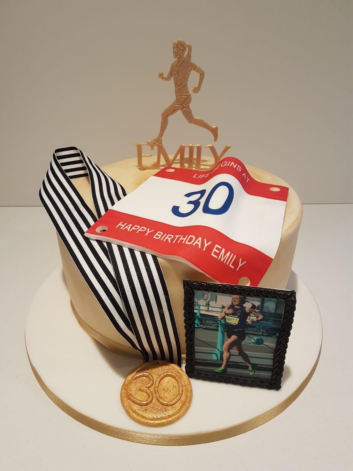 Runner Cake Running cake, Birthday cakes for men