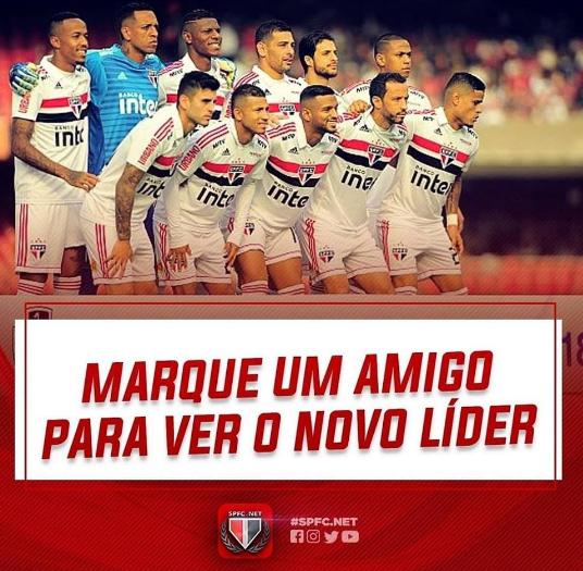 Confira os memes da LIDERANÇA Tricolor no Brasileirão