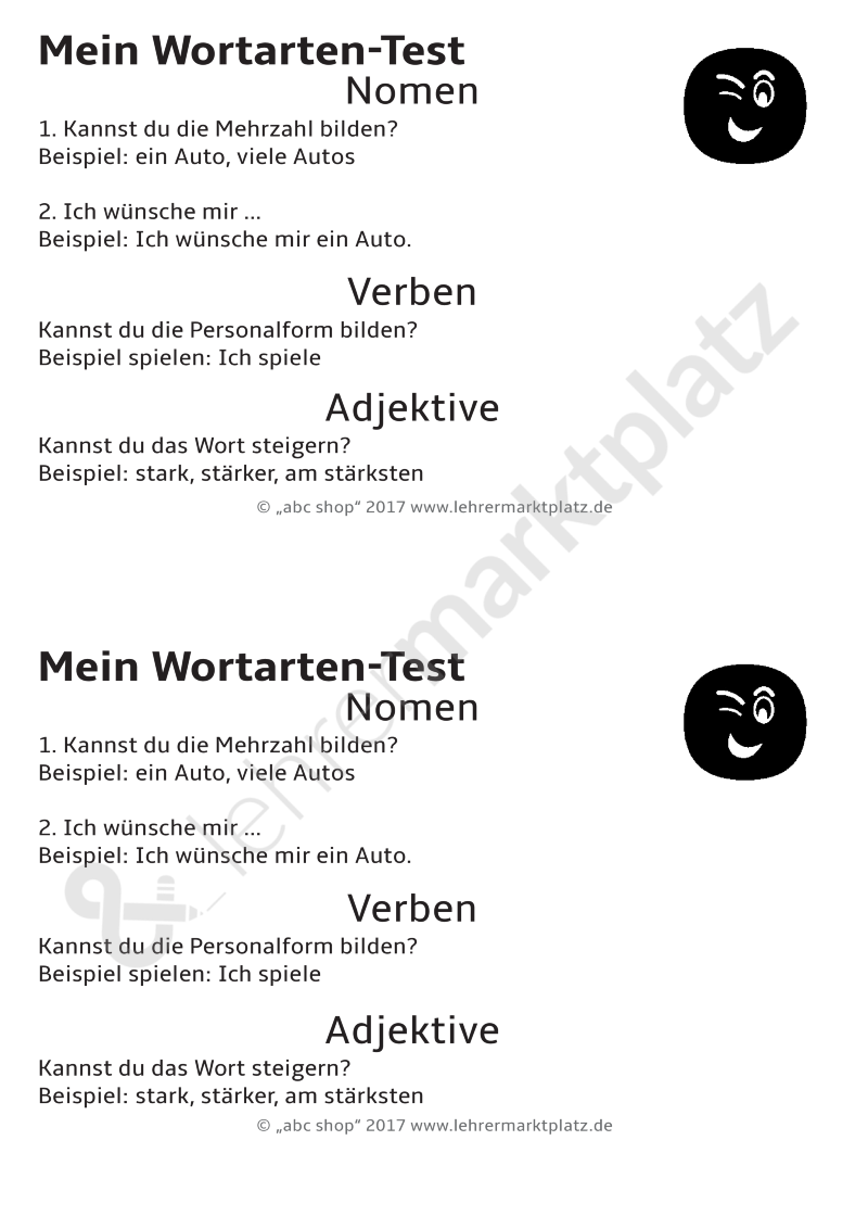 eine kartei zum thema wortarten unterscheiden nomen verben und adjektive zuordnen deutsch. Black Bedroom Furniture Sets. Home Design Ideas