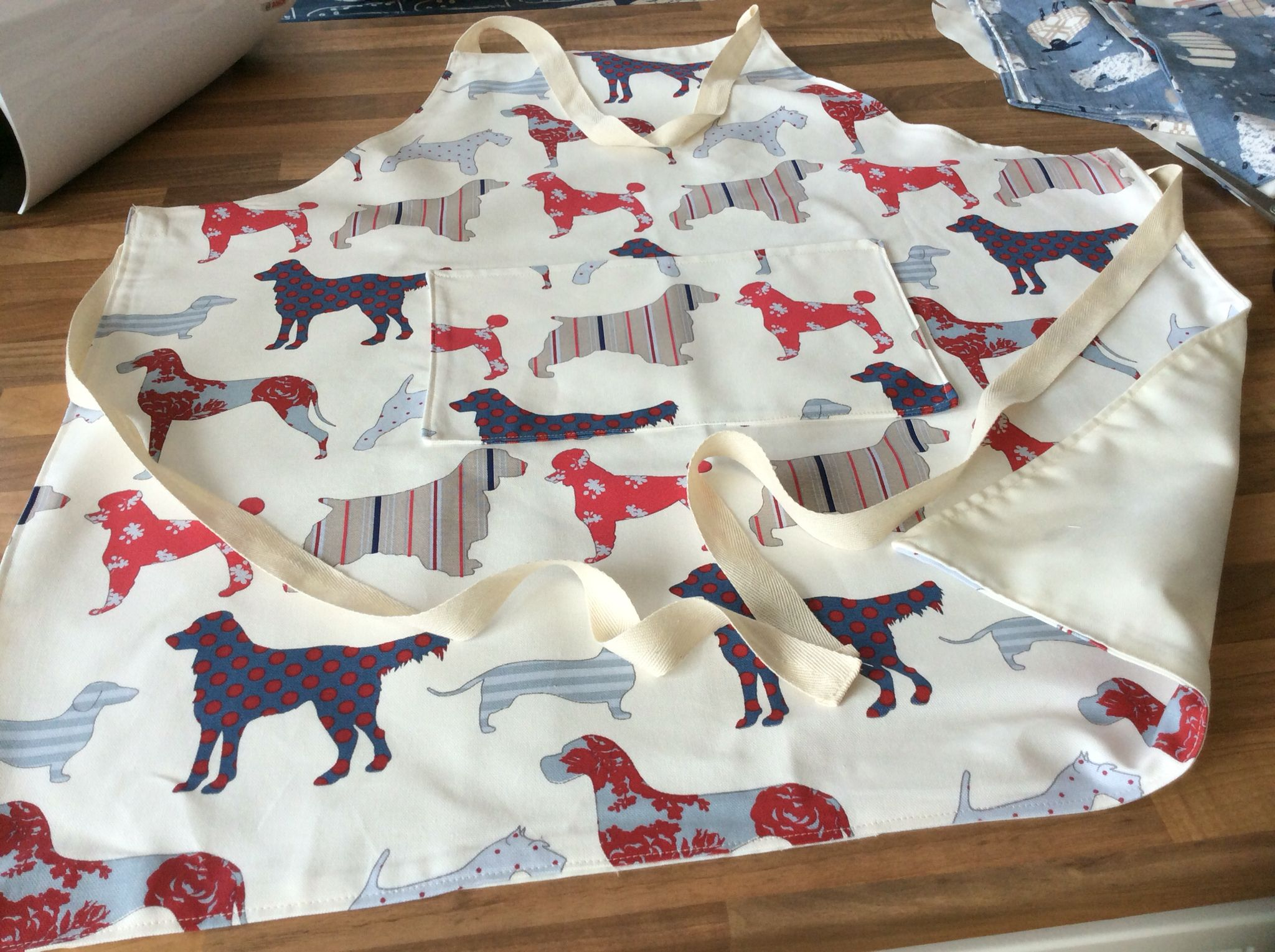 Handmade apron I have made.