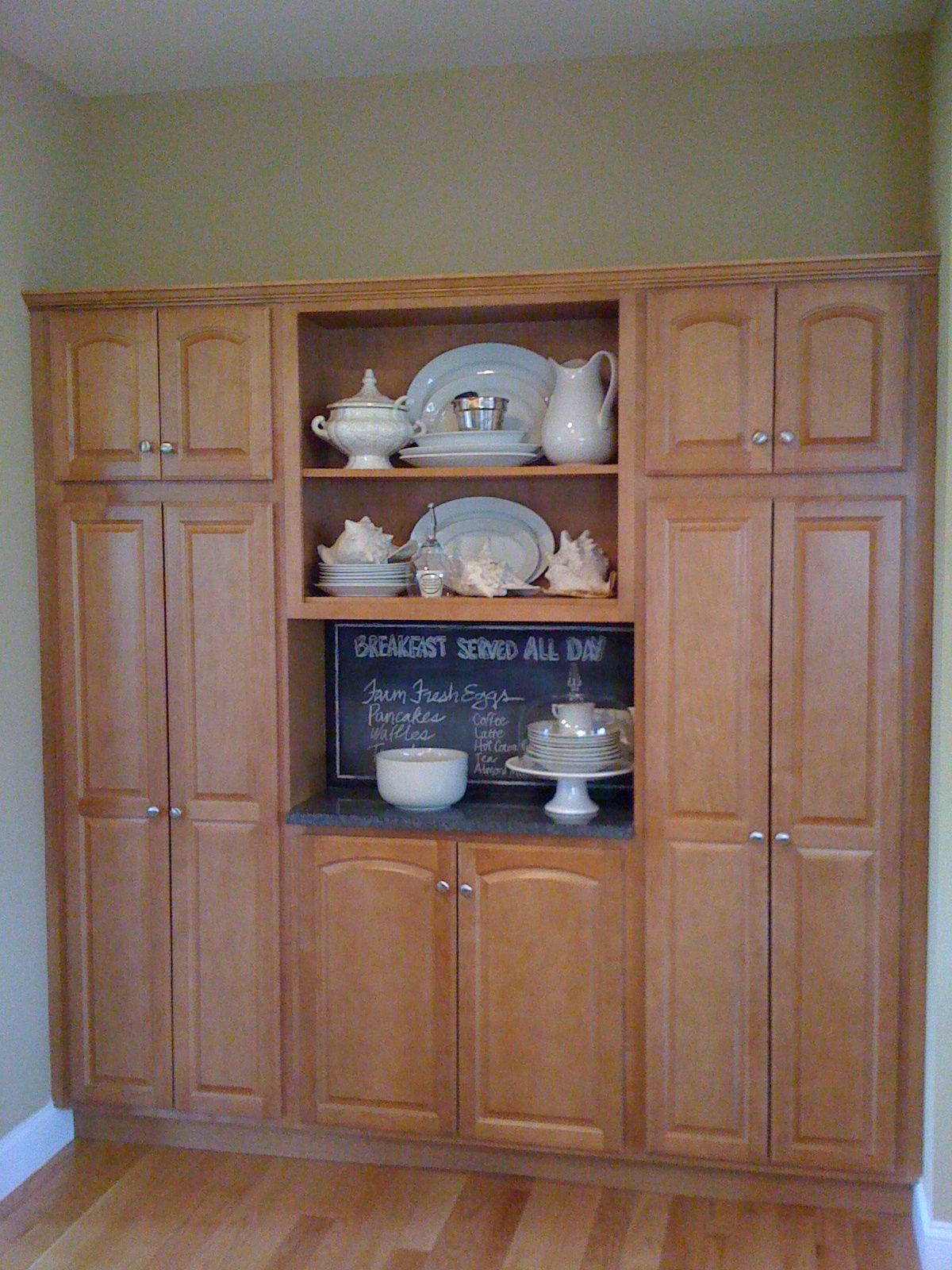 In wall pantry New House Ideas Pinterest