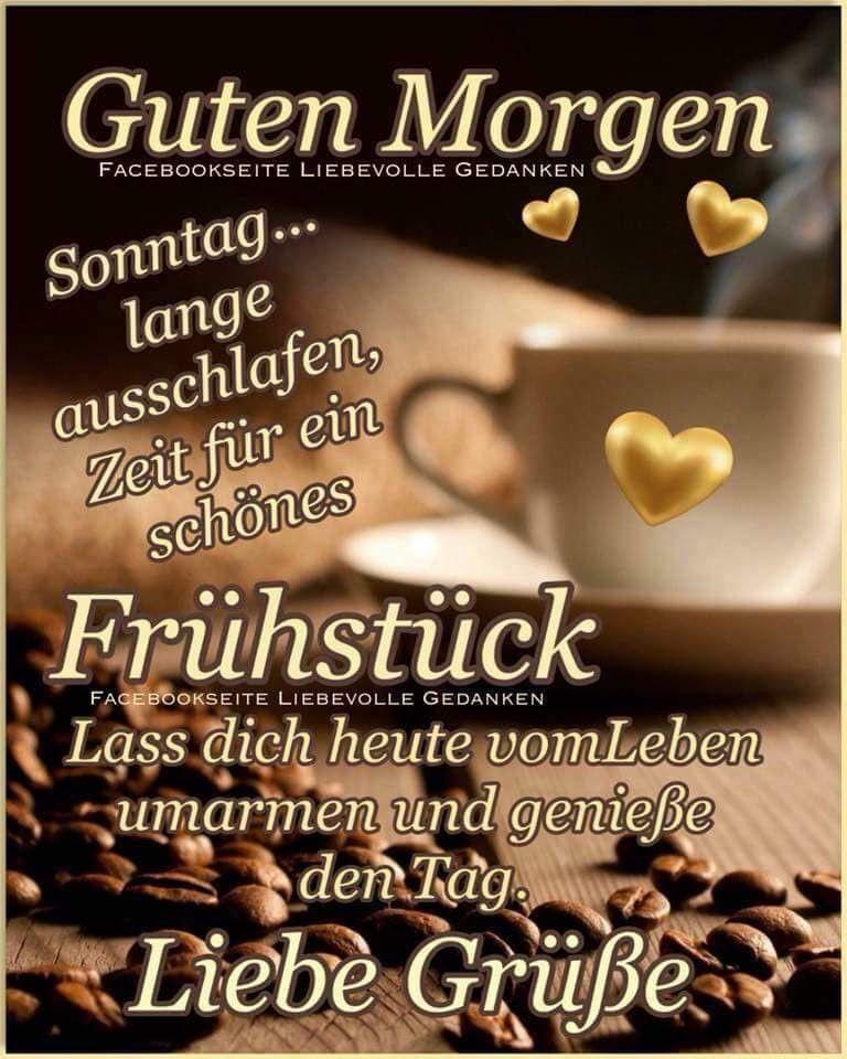 Facebook Guten Morgen Wochentagsprüche Guten Morgen