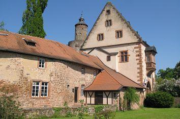 Schloss Büdingen mit Butterfassturm