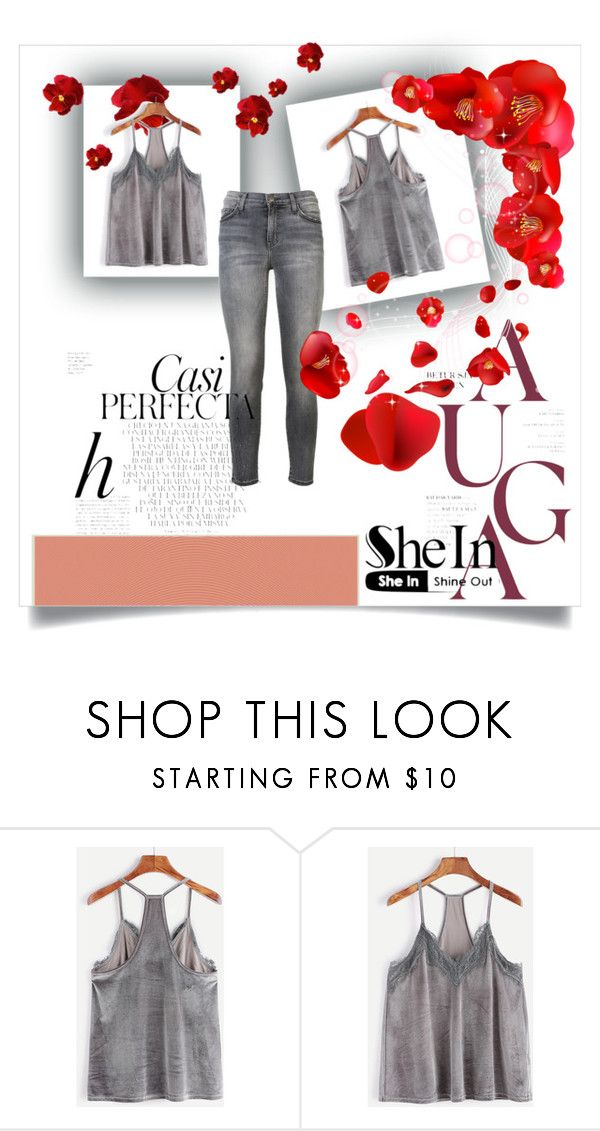 """She In"" by fashionplanet01 ❤ liked on Polyvore featuring Current/Elliott and Whiteley"