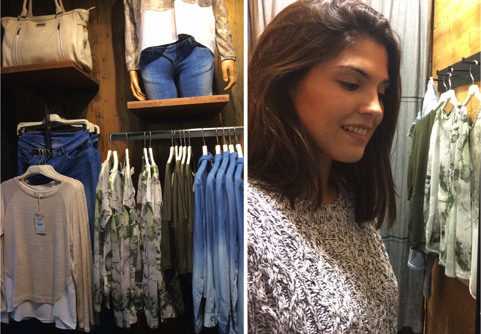 Marta Carvalho, from Sabonete Cor de Rosa Blog, has visited our store and felt in love with our clothes!