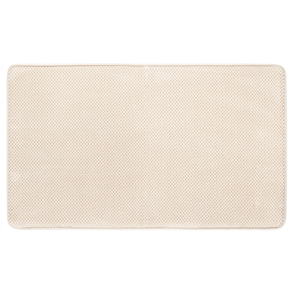 Memory Foam Bath Mat Light Brown 20 X34 Mohawk Home Bath