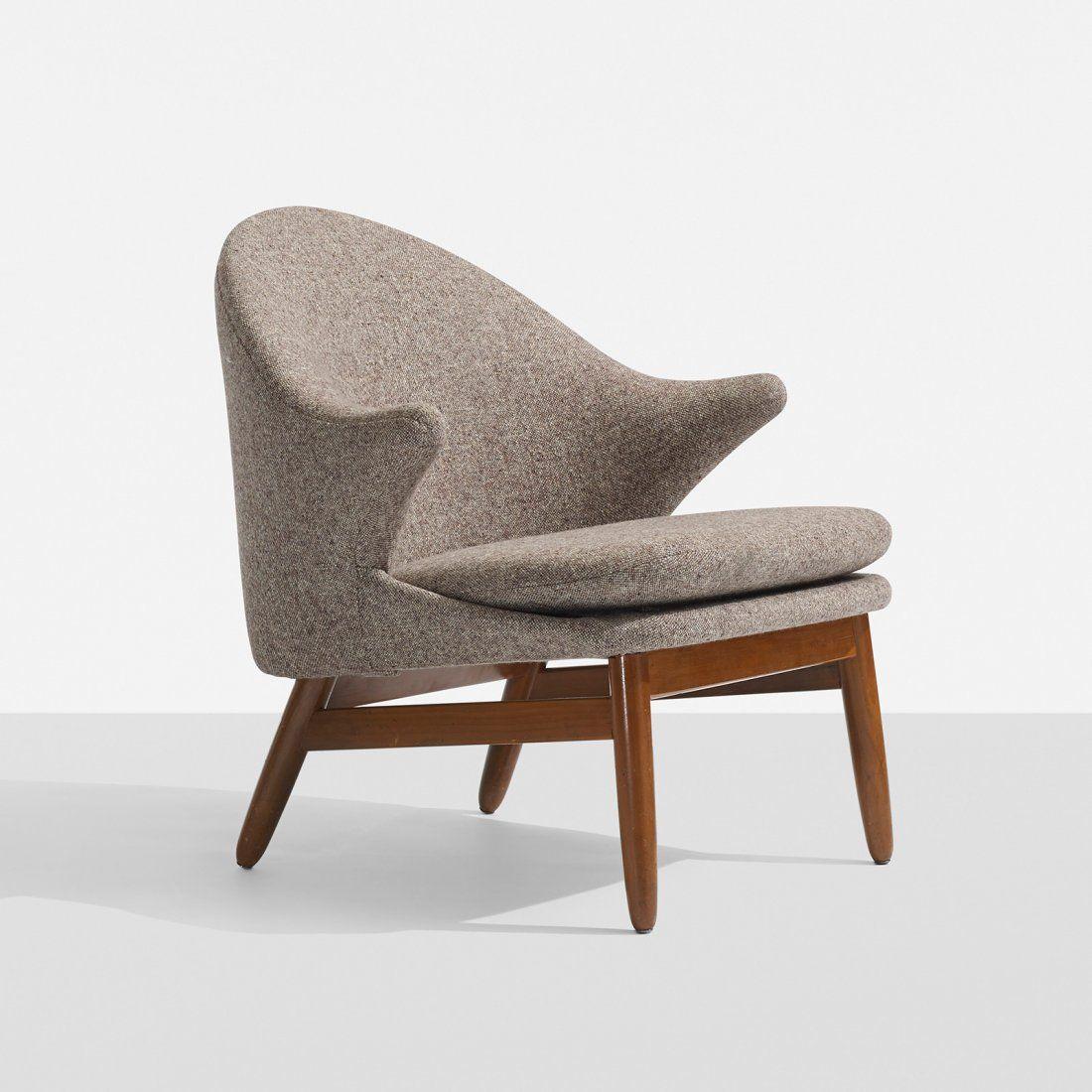 Great Hans Olsen, Teak Lounge Chair For Jorgen Jorgensen, 1956