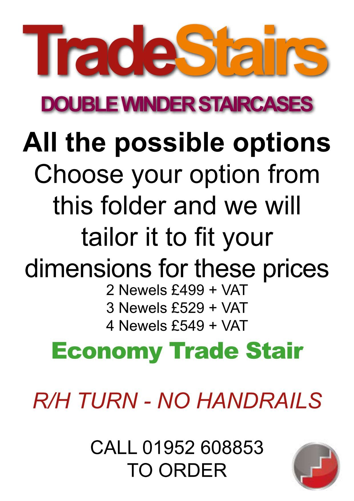 Best Tradestairs Rh Double Winder Handrail Useful Life Hacks 400 x 300
