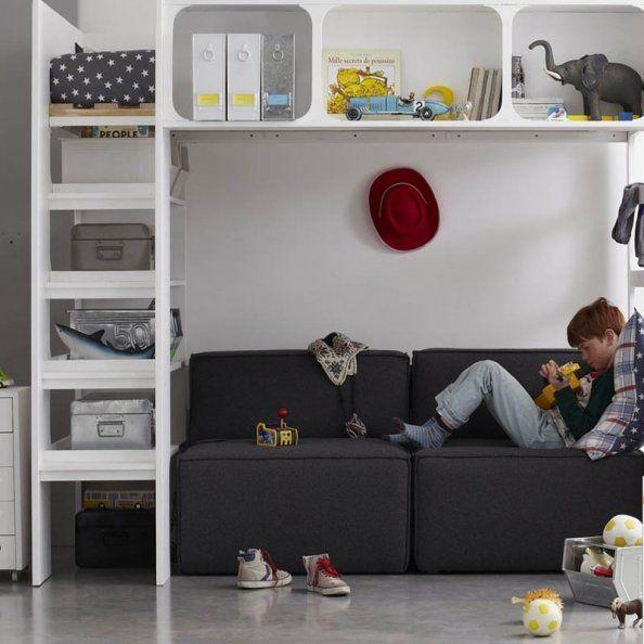 bien choisir un lit pour enfant pinterest mezzanine chambres et chambre enfant. Black Bedroom Furniture Sets. Home Design Ideas