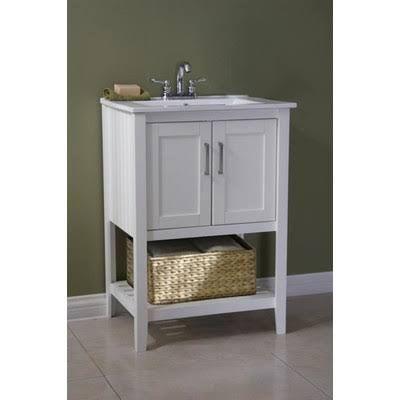 30 bathroom vanity with shelf - Google Search Cabana Pinterest