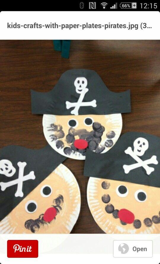Pirate plates