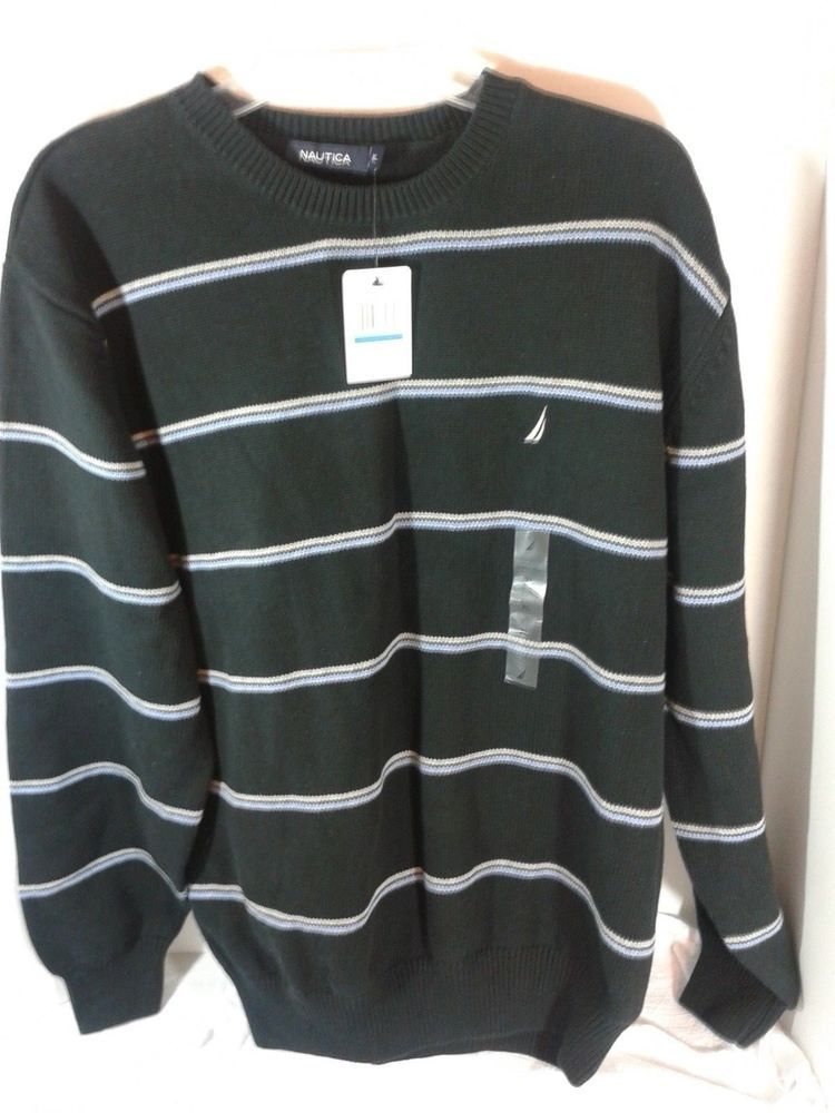 NEW LaVane New York Mens Sweater Sz XL 55/%Ctn//45Acrylic Brown Mock Turtleneck