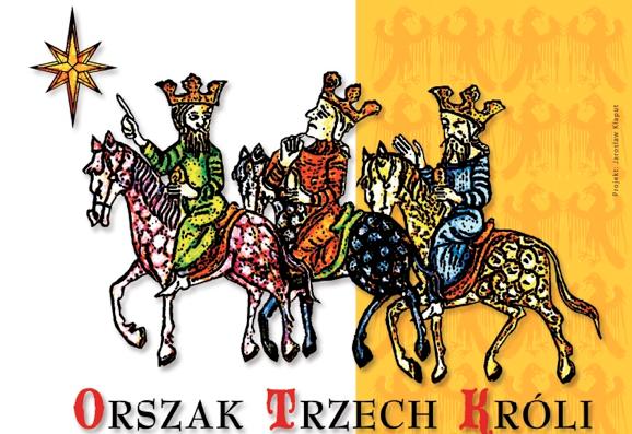 Comitiva de tres Reis. Parròquia de Santa Maria a Łąkocinach (Polònia)